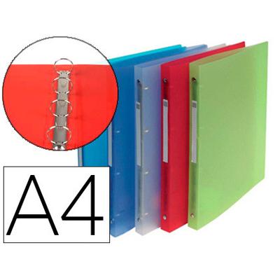 CHROMA A4 4 ANNEAUX 15MM ASSORTIS