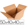 BOITE SIMPLE CANNELURE 50X40X40CM