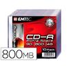 CD-R PACK DE 10 SLIM CASE