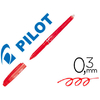ROLLER FRIXION POINT ROUGE