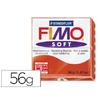 FIMO SOFT 56G ROUGE