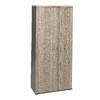 JAZZ CHÊNE GRIS ARMOIRE 3 PORTES 80cm
