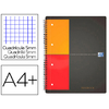 FILINGBOOK A4+ 200 PAGES PETITS CARREAUX