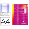 CLAIREFONTAINE 200 COPIES DOUBLES BLANCHES PERFORÉES 5x5 210x297mm