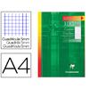 CLAIREFONTAINE 100 COPIES DOUBLES BLANCHES NON PERFORÉES 5x5 210x297mm