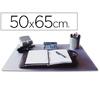 Q-CONNECT SOUS MAIN PVC TRANSPARENT 50X63cm