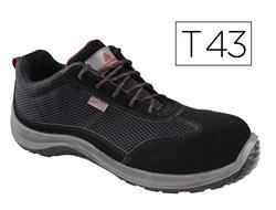 Brower S1P, Cheville Chaussures de Sécurité Homme, Noir (Black), 43 EUCAT