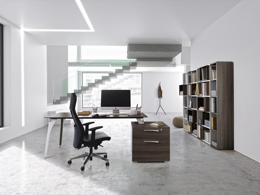 Xenon chÊne bureau pieds panneaux largeur cm mobilier de