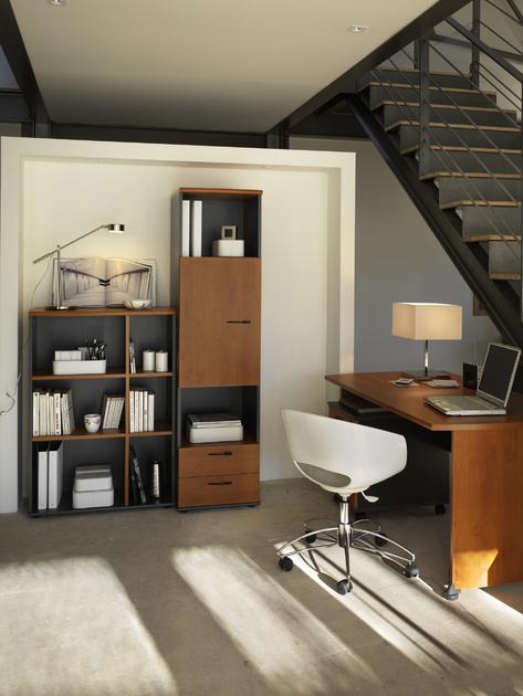 jazz aulne pieds panneaux bureau 160cm bureaux bureau. Black Bedroom Furniture Sets. Home Design Ideas