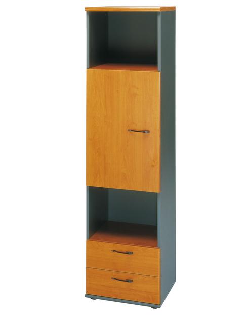 Jazz aulne colonne rangements meubles armoires for Meuble bureau gami jazz