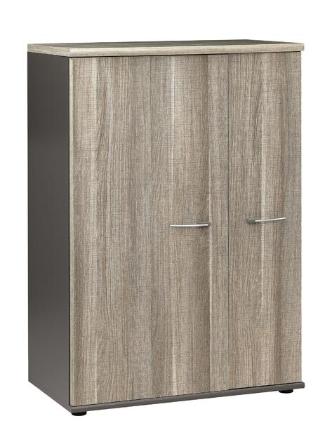 jazz ch ne gris rangement mi hauteur 2 portes rangements. Black Bedroom Furniture Sets. Home Design Ideas
