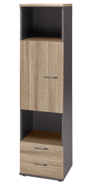 jazz ch ne gris colonne rangements meubles armoires. Black Bedroom Furniture Sets. Home Design Ideas
