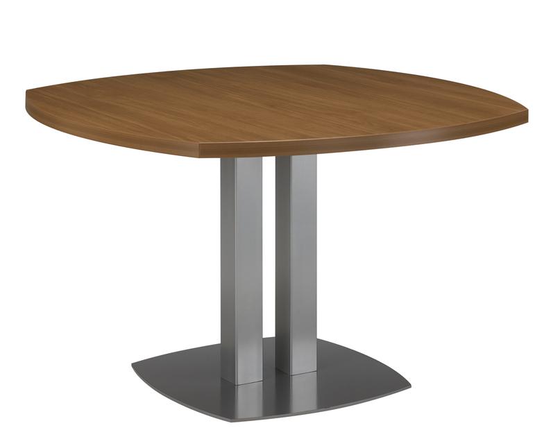 sliver noyer table ronde mobilier de direction par famille sliver noyer. Black Bedroom Furniture Sets. Home Design Ideas