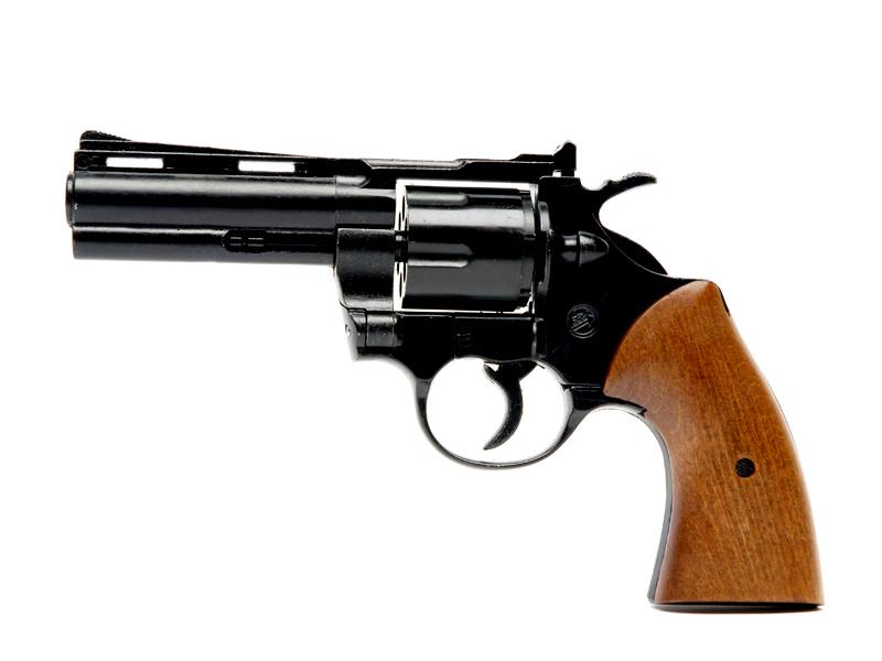 revolver-bruni-python-noir-et-bois