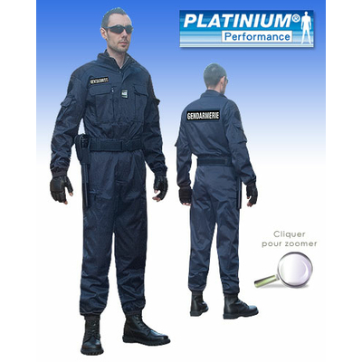 Combinaison Intervention Platinium bleue PERFORMANCE ®