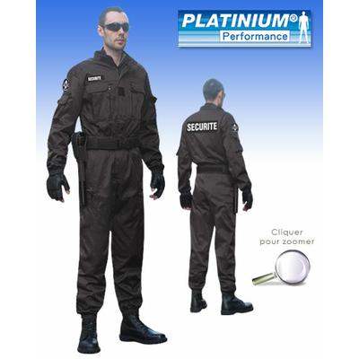 Combinaison Intervention Platinium noire PERFORMANCE ®
