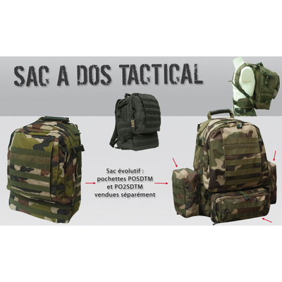 Sac à dos TACTICAL 35L