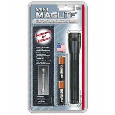Mini lampe torche Maglite avec holster noir