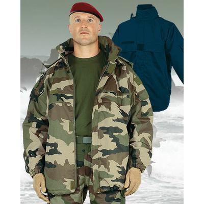 Coupe-Vent polaire double capuche type OTAN