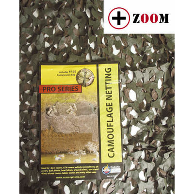 Filet de camouflage 3D retardant feu