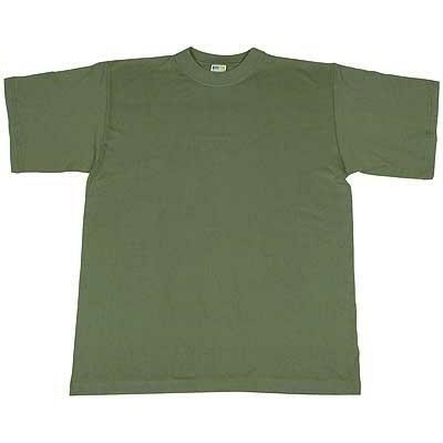 Tee-shirt militaire vert