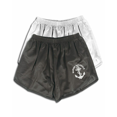 Short JOGGING COOLMAX Marine Nationale