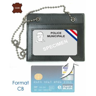 Porte carte POLICE MUNICIPALE