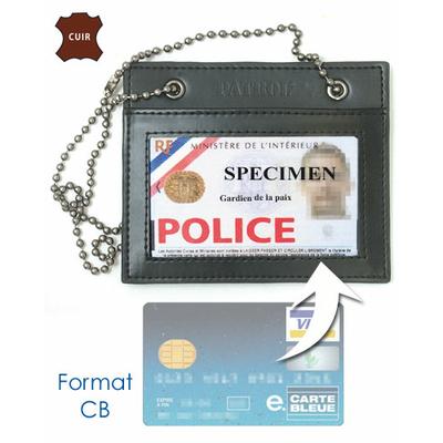 Porte carte POLICE