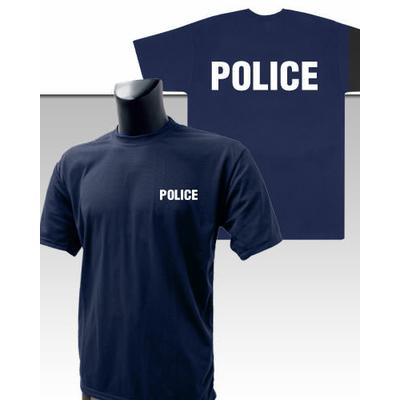 Tee-Shirt Bleu marine imprimé POLICE
