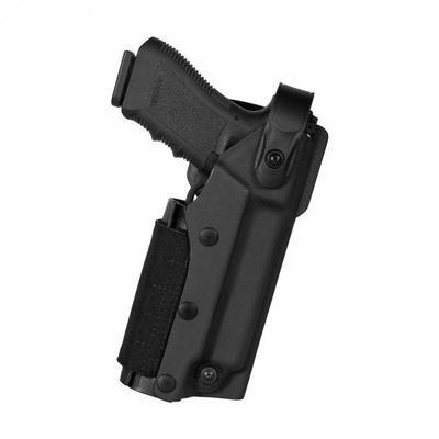 Holster VKZ804 pour Glock 17/19/18/22/23 + lampe/laser noir