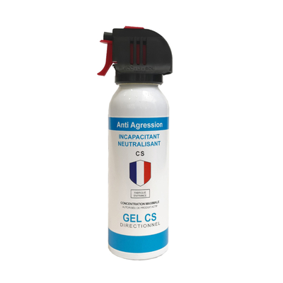 Aérosol de défense  ACCUSOL 100 ml gel CS