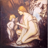 La mère et les enfants