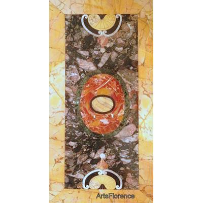 plateau marqueterie marbres - faux marbres