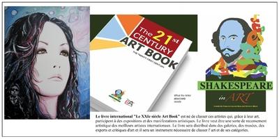 Artsflorence sélectionnée dans le livre international le XXIe siècle Art book