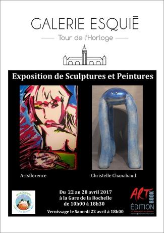 artsflorence exposition Galerie esquié La Rochelle