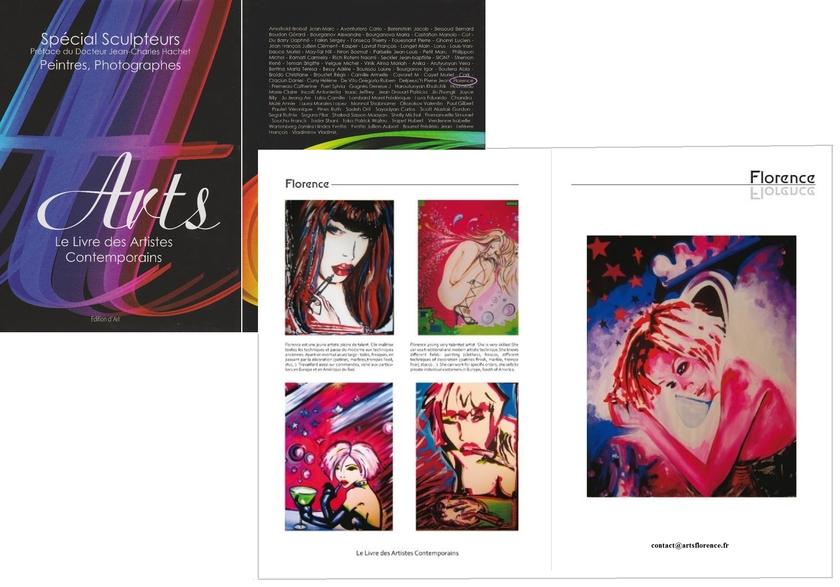 Sensuelle girl art contemporain contemporain arts florence for Art contemporain livre