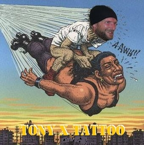 Tony X Tattoo - anthony foury