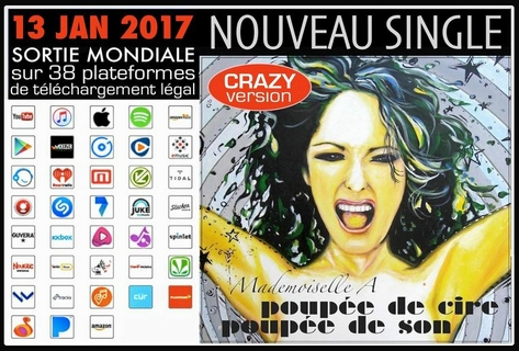 sortie mondiale crazy version - couverture artsflorence