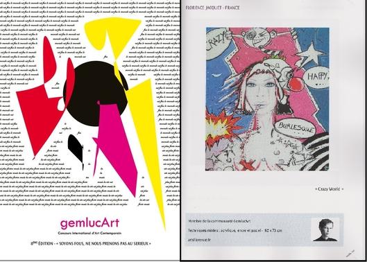 artsflorence dans le gemlucart international contemporain 2016 Monaco