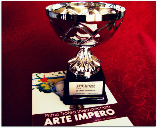 artsflorence primo trofeo internationale arte impero - art contemporain - prix international