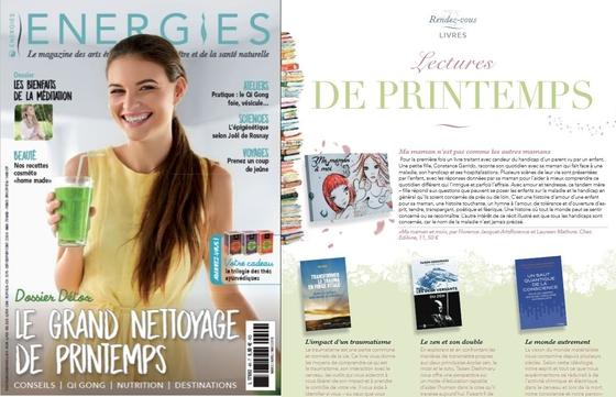 énergies magazine parle de ma maman à moi - artsflorence florence jacquet