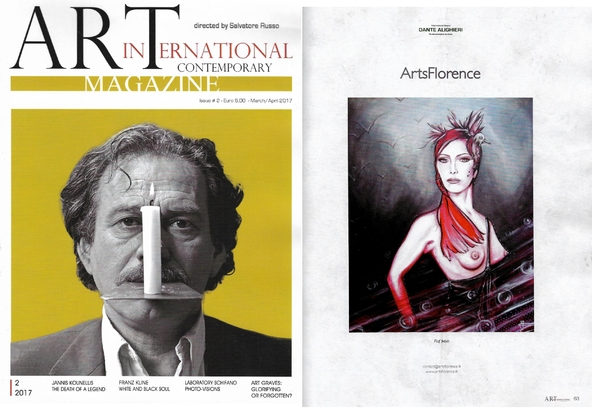 artsflorence dans art international contemporary magazine de juin 2017
