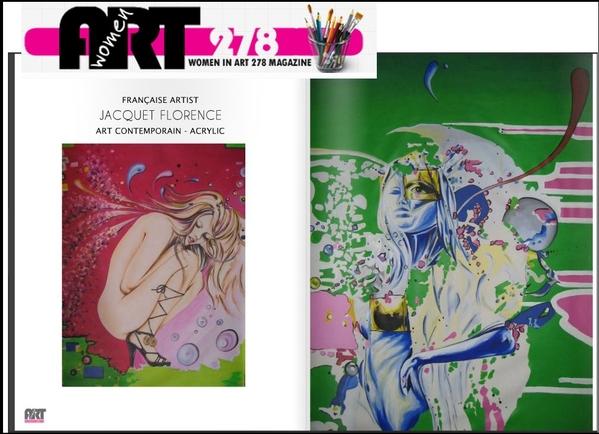 women in art 278 parle de artsflorence florence jacquet dans le magazine de Janvier 2016