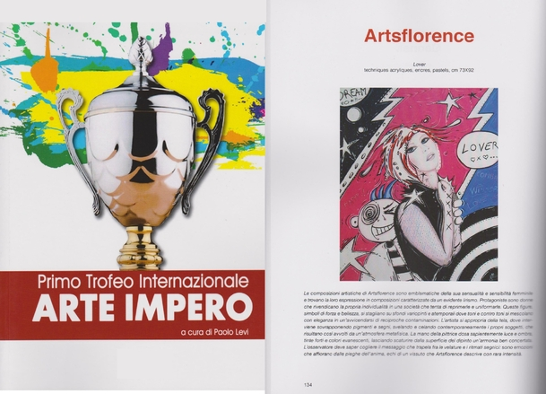 arte impero trophy international  - the first art international trophé empire - artsflorence