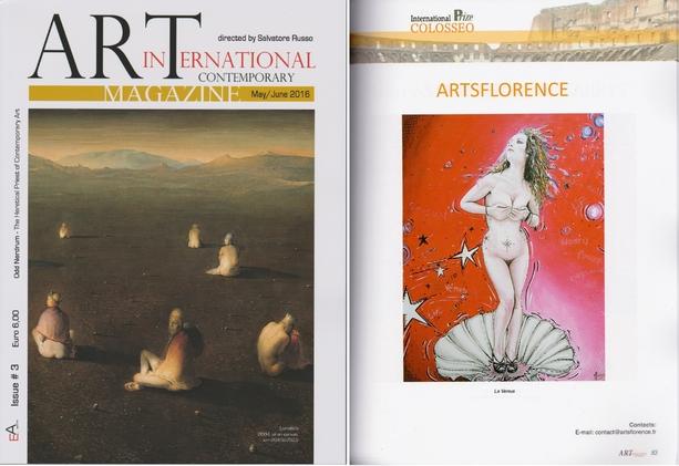 artsflorence - art international contemporain magazine mai juin 2016
