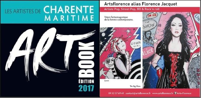artsflorence - florence jacquet dans artbook edition 2017