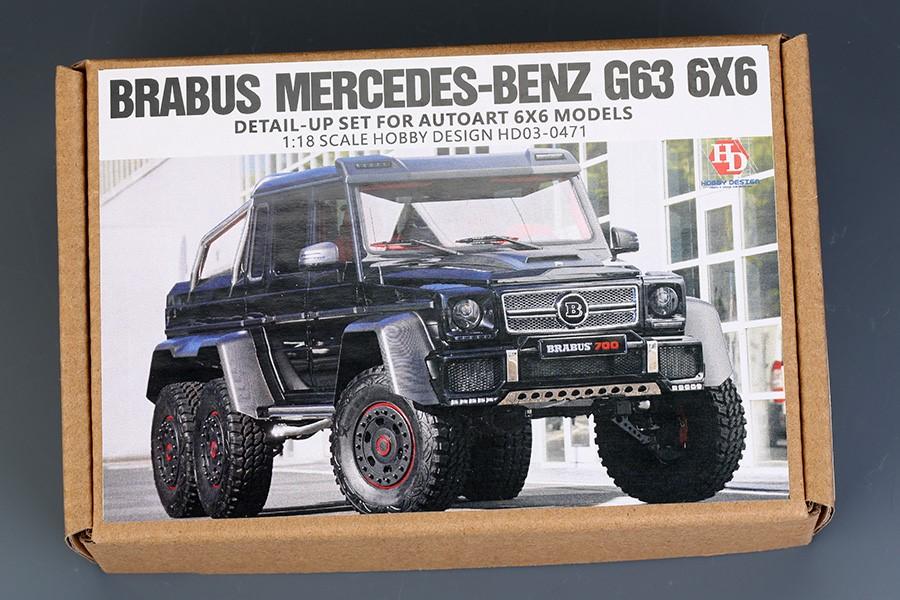 1 18 Kit Brabus Mercedes Class G63 Amg 6x6 Pi 232 Ces
