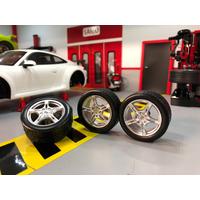 1/18 Jantes Porsche Cayman S Norev