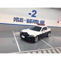 MAZDA RX8 POLICE 1/18 AUTOART