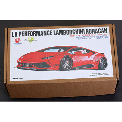 Kit LB Performance Lamborghini Huracan 1/18